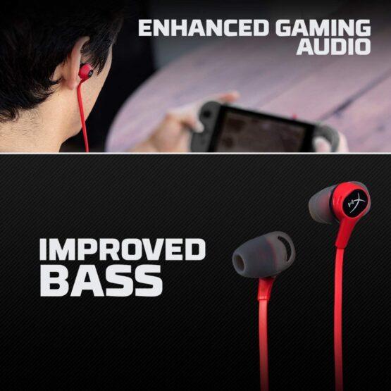 Auriculares con Microfono HyperX HX-HSCEB-RD Earbuds 6