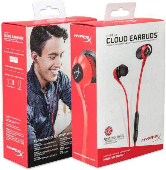 Auriculares con Microfono HyperX HX-HSCEB-RD Earbuds 1