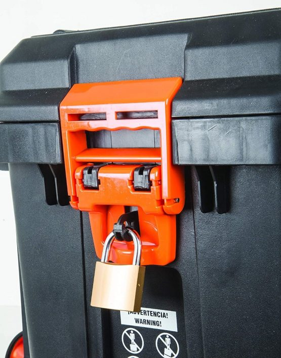 Caja Herramientas Truper con Ruedas y Manubrio Telescopico 63X38X46 CHP-25R 5