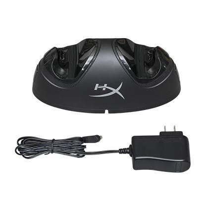 Estacion de carga para mandos de PS4 HyperX ChargePlay Duo 3