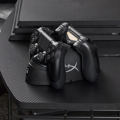 Estacion de carga para mandos de PS4 HyperX ChargePlay Duo 6