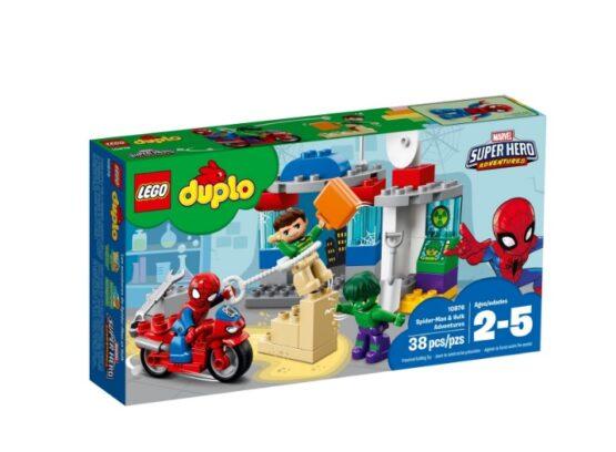 Spiderman y Hulk Pequeñas Aventuras Lego® Duplo® 38 Piezas 6