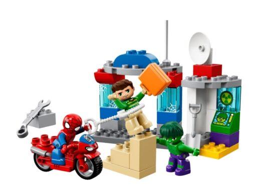 Spiderman y Hulk Pequeñas Aventuras Lego® Duplo® 38 Piezas 1