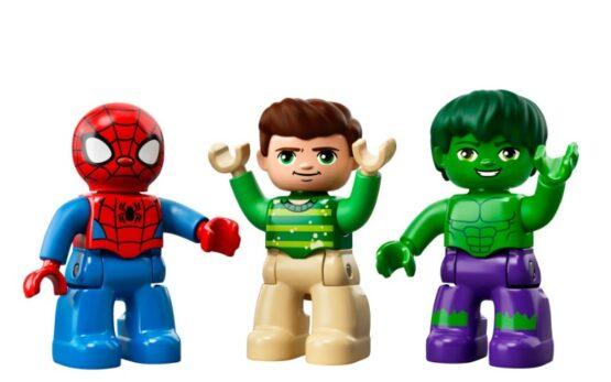 Spiderman y Hulk Pequeñas Aventuras Lego® Duplo® 38 Piezas 2