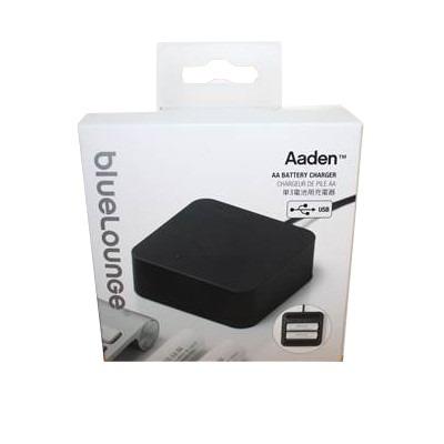 Blue Lounge Aaden Cargador de Pilas AA USB AA-BL 1
