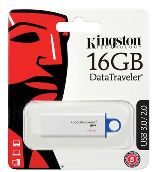 Pendrive Kingston Data Traveler 16Gb 1