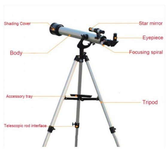 Telescopio F70060 R108-2 3