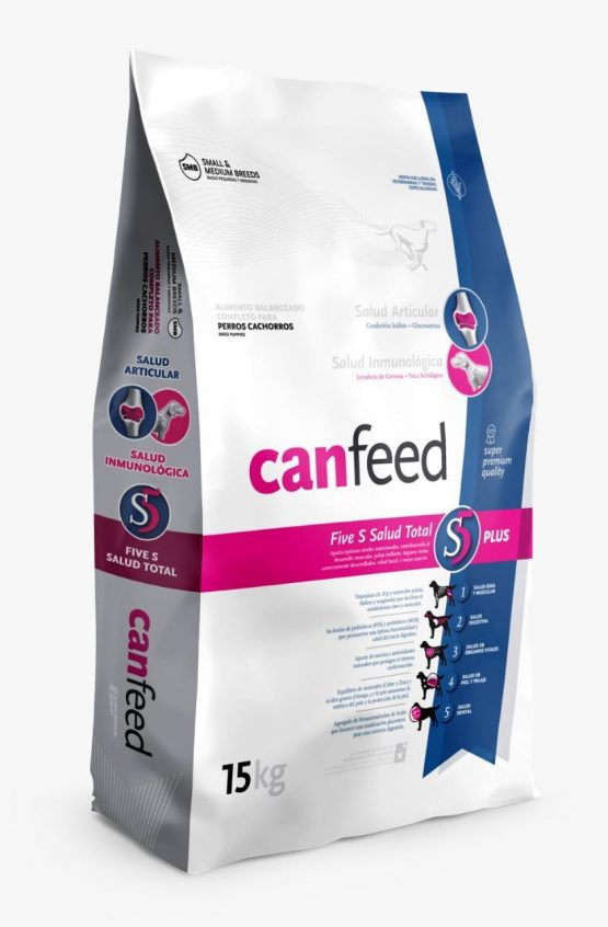 Alimento Balanceado Canfeed Perros Cachorros 15+3 Kg 1