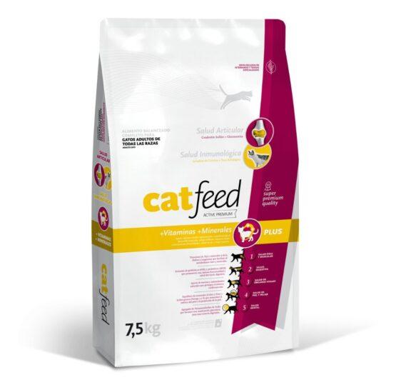 Alimento Balanceado Catfeed Gatos Adultos 7.5 Kg 1