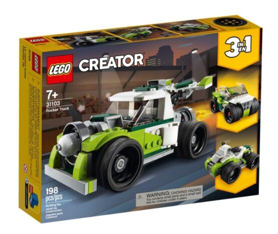 Camion Cohete Lego Creator 3 en 1 2