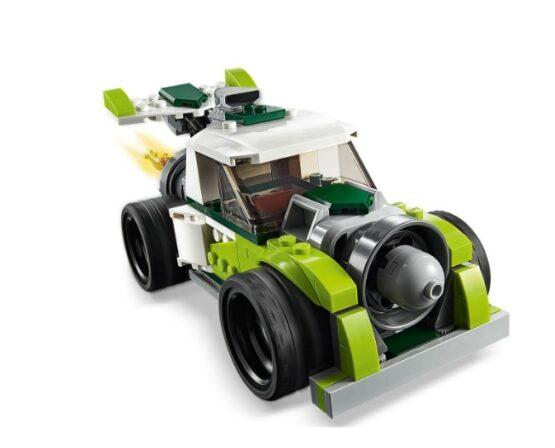 Camion Cohete Lego Creator 3 en 1 3