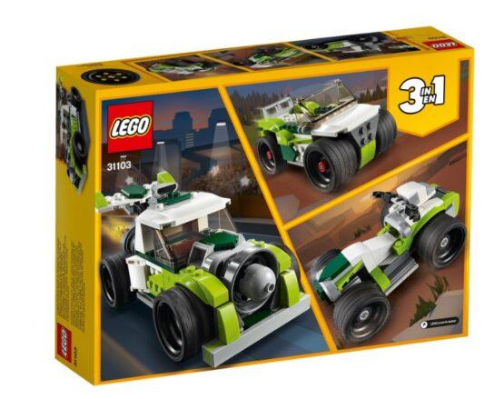 Camion Cohete Lego Creator 3 en 1 4