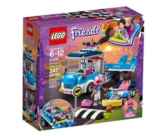 Camion de Servicio y Cuidado Lego Friends 247 Piezas 2