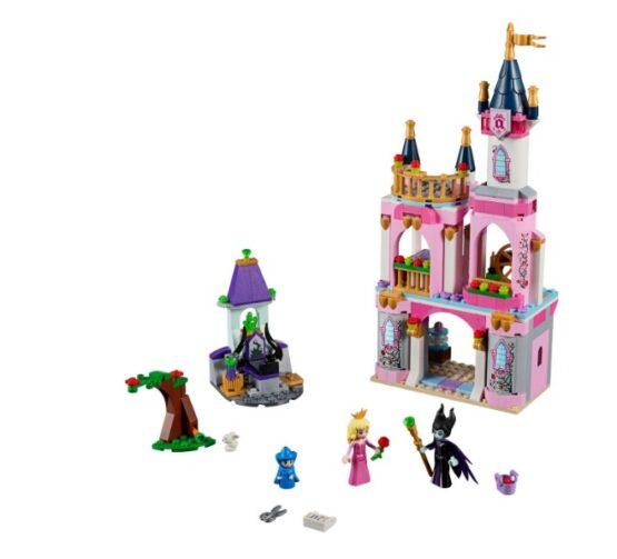 Castillo de la Bella Durmiente Lego Disney 322 Piezas 1