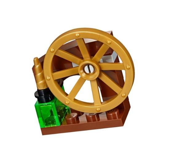 Castillo de la Bella Durmiente Lego Disney 322 Piezas 4