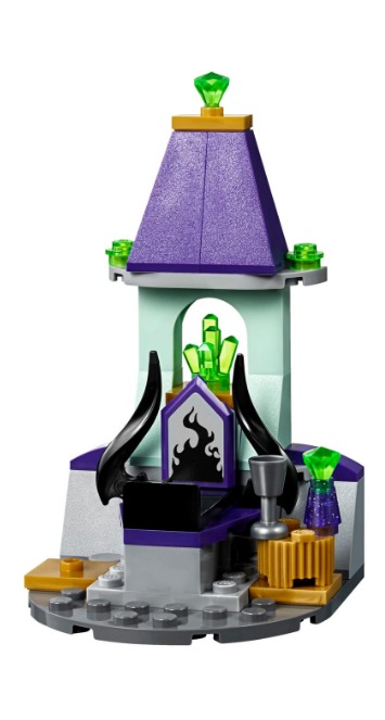 Castillo de la Bella Durmiente Lego Disney 322 Piezas 6