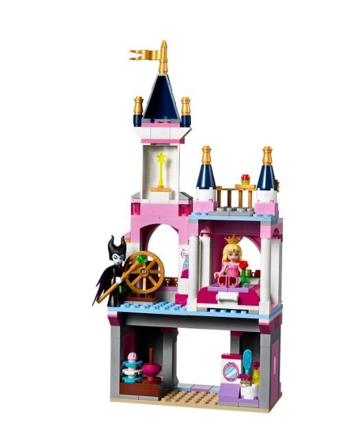 Castillo de la Bella Durmiente Lego Disney 322 Piezas 7