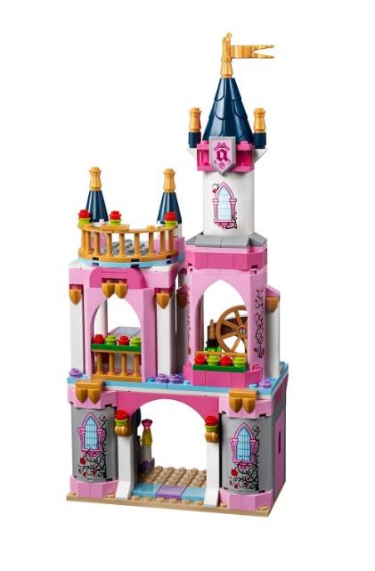 Castillo de la Bella Durmiente Lego Disney 322 Piezas 8