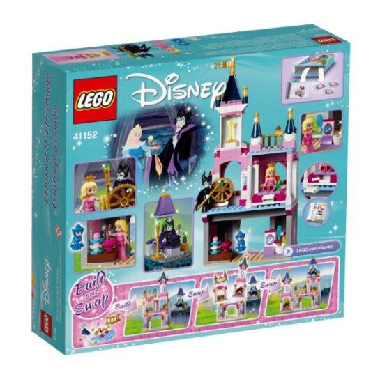 Castillo de la Bella Durmiente Lego Disney 322 Piezas 9