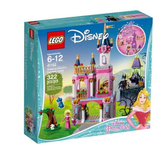 Castillo de la Bella Durmiente Lego Disney 322 Piezas 10