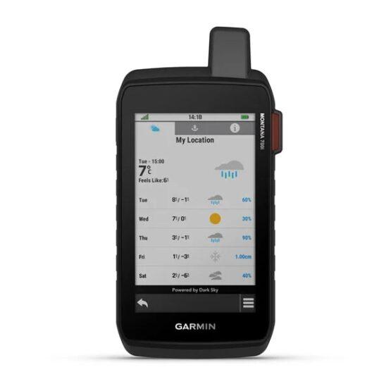 Gps Garmin Montana 700i Navegador con Pantalla Tactil 2