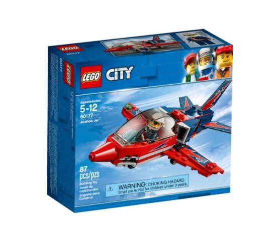 Jet de Exhibicion Aerea Lego City 87 Piezas 2