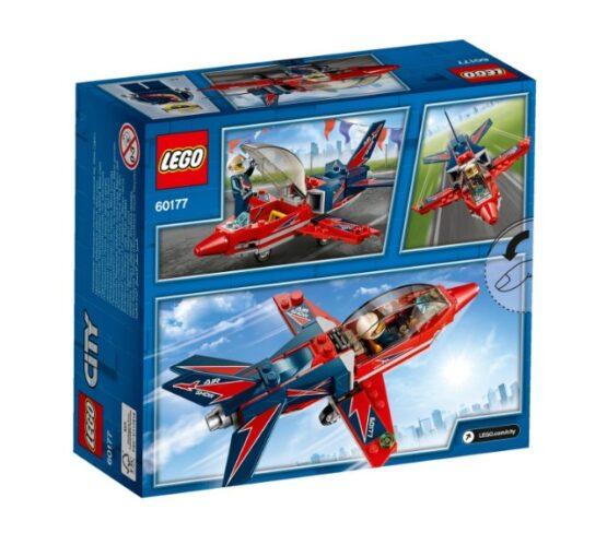 Jet de Exhibicion Aerea Lego City 87 Piezas 3