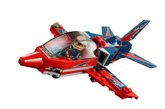 Jet de Exhibicion Aerea Lego City 87 Piezas 4