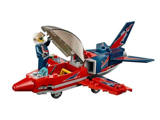Jet de Exhibicion Aerea Lego City 87 Piezas 5