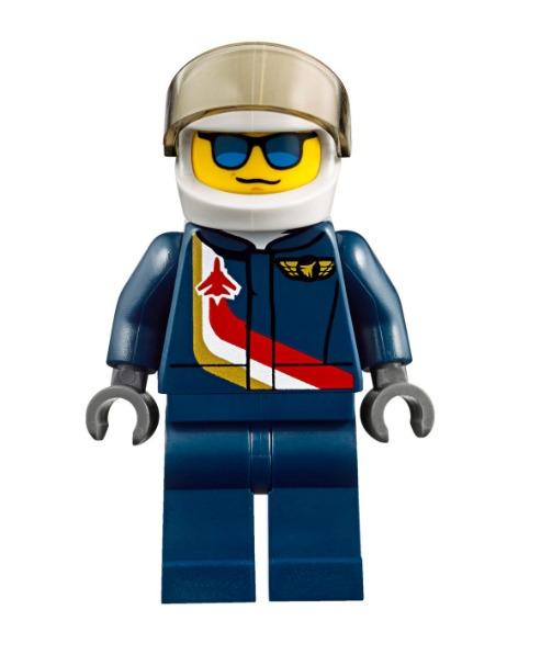 Jet de Exhibicion Aerea Lego City 87 Piezas 6