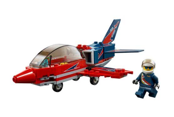 Jet de Exhibicion Aerea Lego City 87 Piezas 1