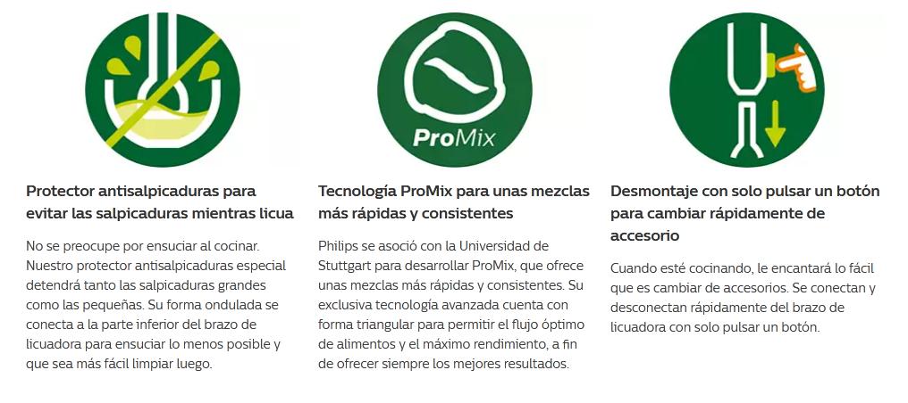 Mixer Philips Viva Collection Licuadora Manual ProMix 6