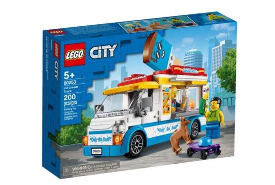 Camion de los Helados Lego City 5
