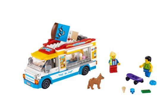Camion de los Helados Lego City 6