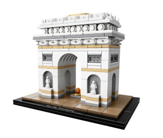 Arco del Triunfo Lego Architecture 386 Piezas 1