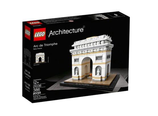Arco del Triunfo Lego Architecture 386 Piezas 2