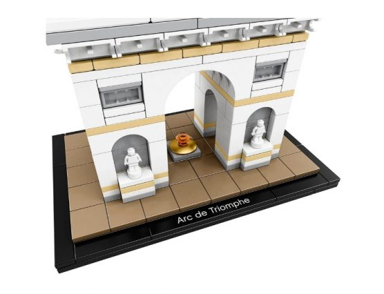 Arco del Triunfo Lego Architecture 386 Piezas 4