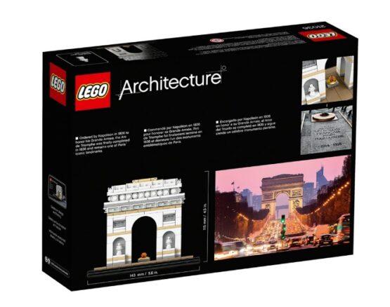 Arco del Triunfo Lego Architecture 386 Piezas 7