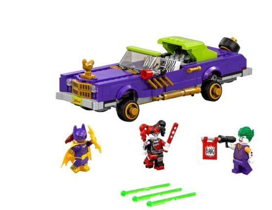 Auto modificado de The Joker Lego Batman 1