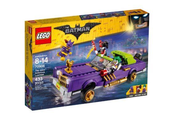 Auto modificado de The Joker Lego Batman 2