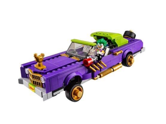 Auto modificado de The Joker Lego Batman 3