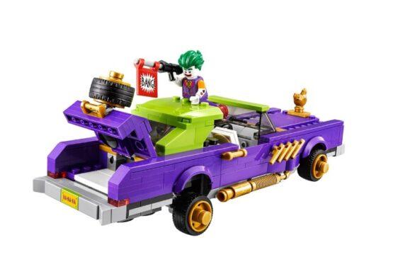 Auto modificado de The Joker Lego Batman 4