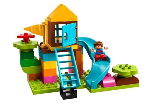 Caja de Ladrillos para Patio Grande Lego Duplo 4