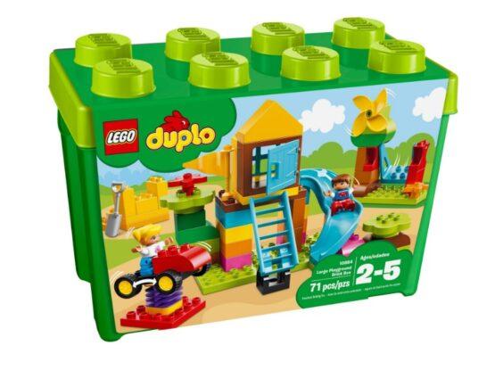 Caja de Ladrillos para Patio Grande Lego Duplo 5