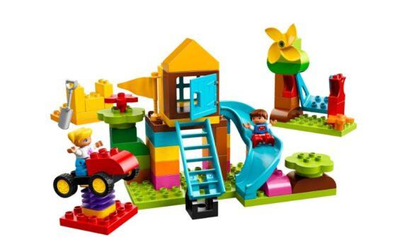 Caja de Ladrillos para Patio Grande Lego Duplo 1
