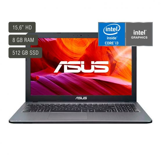 """Notebook Asus X509JA-BR491T/ 15.6""""/ I3/ 8Gb/ 512 Gb 1"""