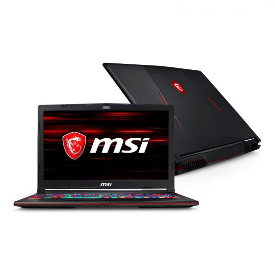 Notebook MSI Gaming GL63 9SDK-879/ 15,6''/ I7/ 16Gb/ 256Gb/ 1Tb 1