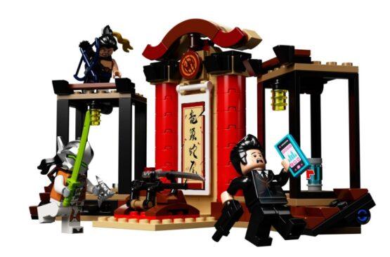Overmatch Hanzo vs Genji Lego 197 piezas 1