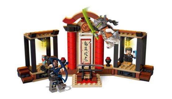 Overmatch Hanzo vs Genji Lego 197 piezas 3
