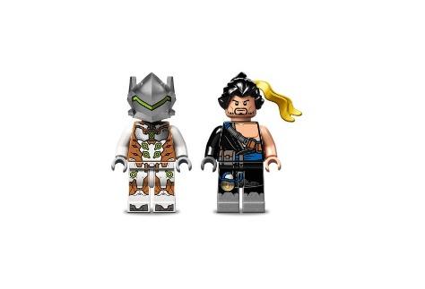 Overmatch Hanzo vs Genji Lego 197 piezas 4